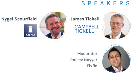Fixflo Masterclass Digitising Property Businesses Speakers
