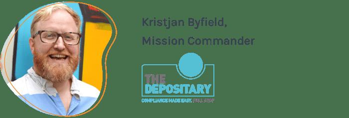 Kristjan Byfield, Mission Commander, The Depositary