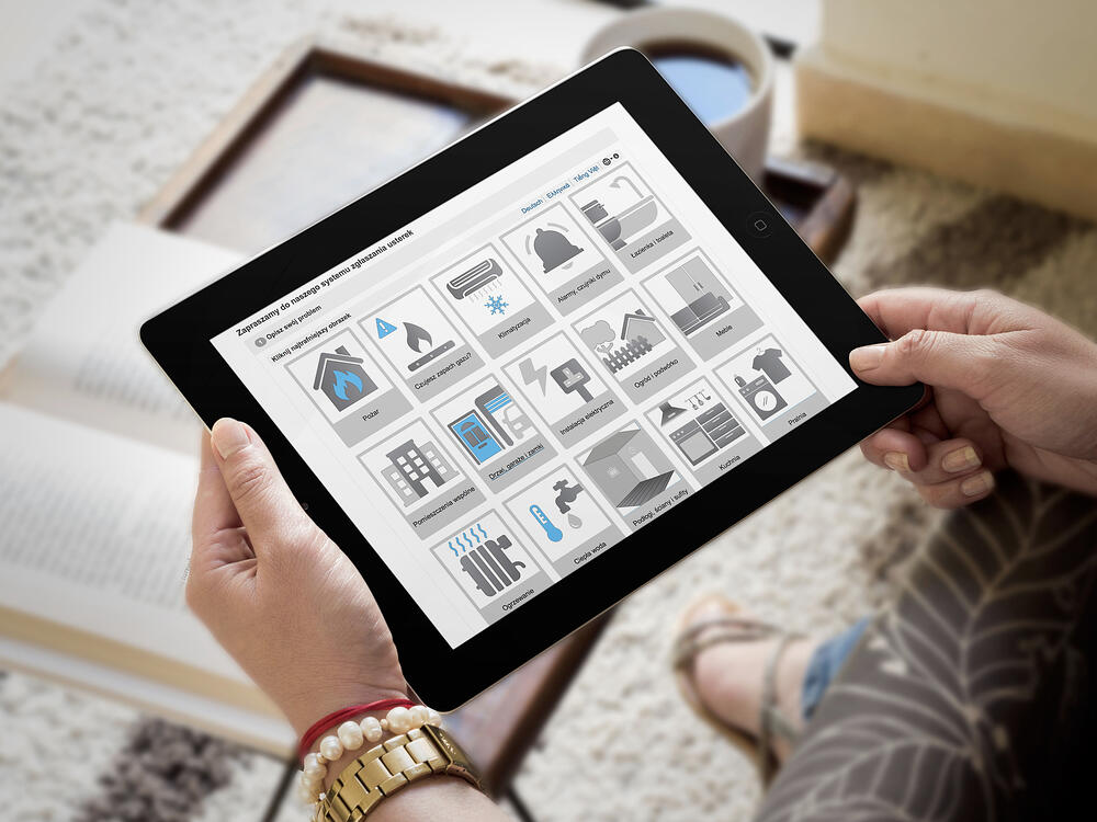 using Fixflo to report repair online