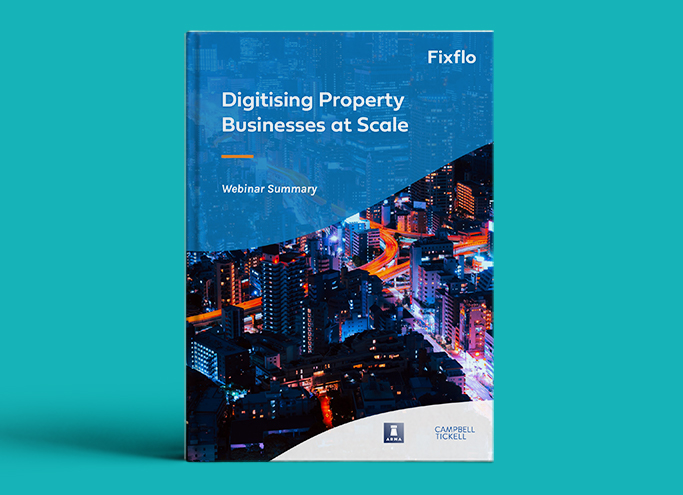 Digitising Property Businesses at Scale