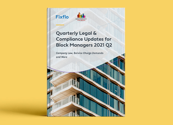 Quarterly Legal & Compliance Updates for Block Managers 2021 Q2
