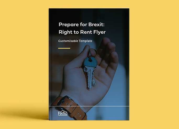 Prepare for Brexit: Right to Rent Flyer Customisable Template
