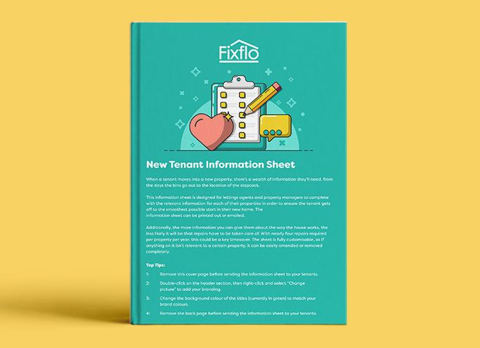 New Tenant Information Sheet