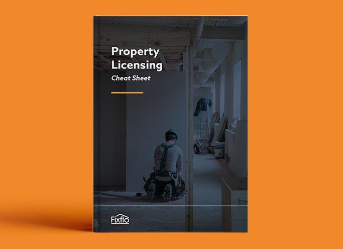 Property Licensing Cheat Sheet