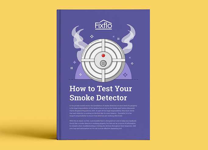 How to Test Your Smoke Detector Flyer