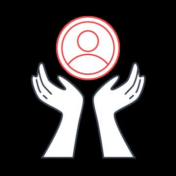 Illustrative Icon_Customer Centric