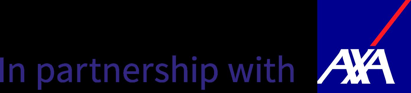 AXA partnership logo