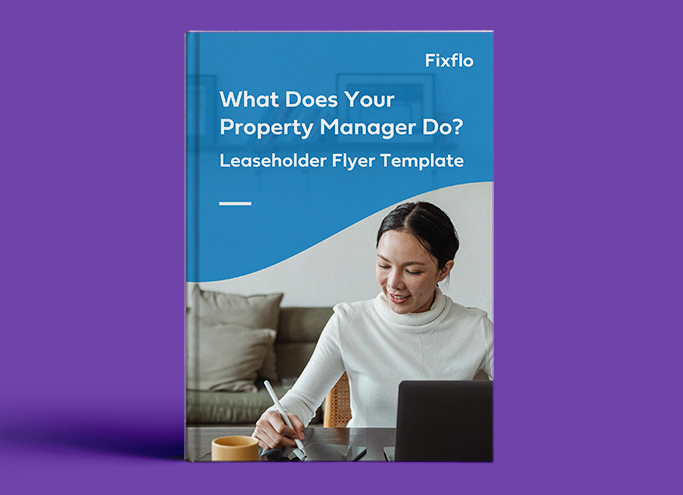 What Does Your Property Manager Do? - Leaseholder Flyer Template