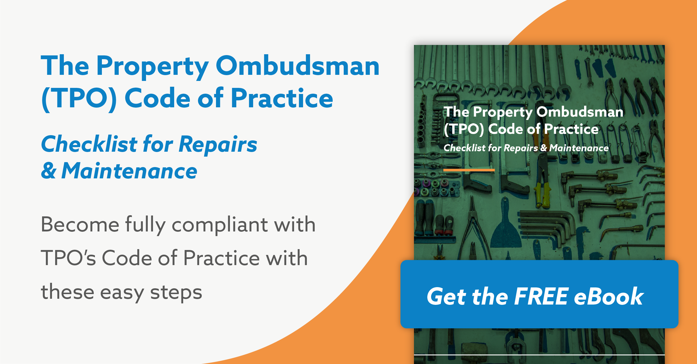 Comply With TPO Code of Practice Changes: You Need to Have This Checklist for Repairs and Maintenance